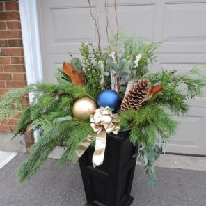 Holiday Urn Arrangement
